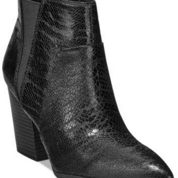 Bar III Alexa Pointed-Toe Booties, Only at Macy's | macys.com