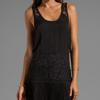 Free People Charleston Shift Dress in Black
