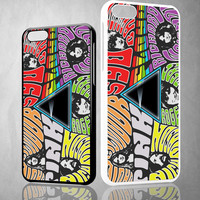 Pink Floyd Rock Band X0232 iPhone 4S 5S 5C 6 6Plus, iPod 4 5, LG G2 G3, Sony Z2 Case