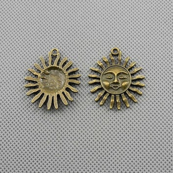 2x Making Jewellery Supply Pendant Alloys anhaenger Jewelry Findings Charms Schmuckteile Charme 4-A1429 Titan