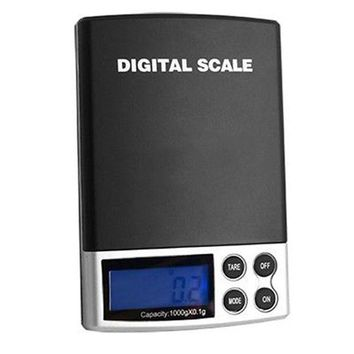 CREYONV new 1000g x 0 1g lcd display mini electronic digital jewelry pocket scale balance weight weighing scale free shipping
