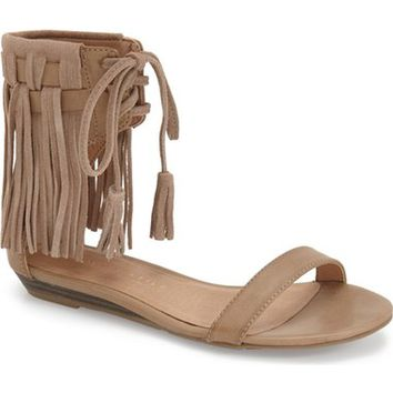 Very Volatile 'Aubrey' Fringe Lace-up Sandal (Women) | Nordstrom