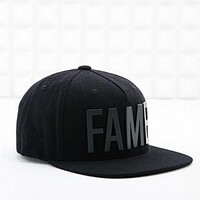 Hall of Fame Metal Ewing Snapback Cap in Black - Urban Outfitters