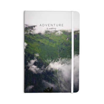 "Ann Barnes ""Adventure is Waiting"" Mountain Everything Notebook"