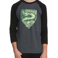 Harry Potter Slytherin Raglan