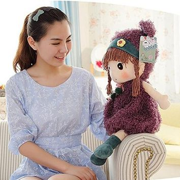 Christmas Gift Doll Kid Gift Kids Toys Dolls Cloak Ragdoll Plush Toys