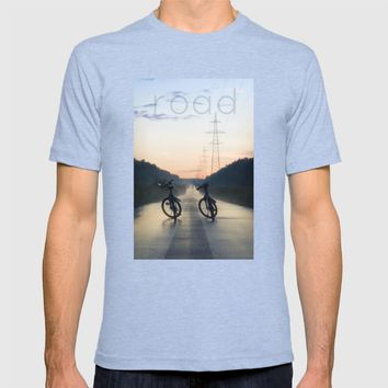 Evening Road after Rain T-shirt by Cinema4design | Society6