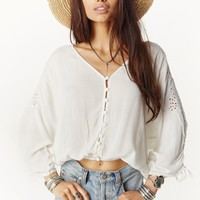 INDIE WOVEN BLOUSE