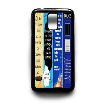 Doctor Who, The Great Gatsby, The Fault in Our Stars Samsung Galaxy S3 S4 S5 Note 2 3 4 HTC One M7 M8 Case