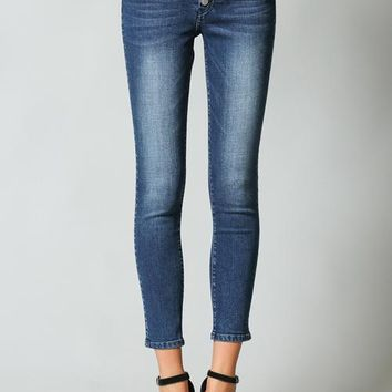 Callie Button Flying Monkey Jeans