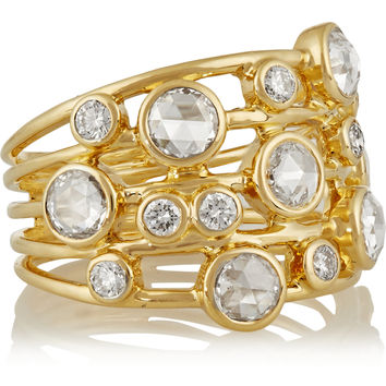 Ippolita - Glamazon Constellation 18-karat gold diamond ring