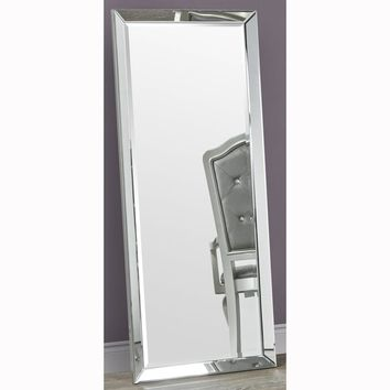 Full Length Leaner Beveled Floor Mirror with Beveled Mirror Frame | Overstock.com Shopping - The Best Deals on Mirrors