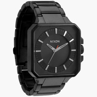 Nixon The Platform Watch All Black One Size For Men 23989710001