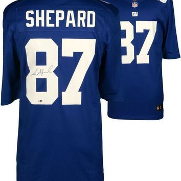 LMFONY Sterling Shepard Signed Autographed New York Giants Football Jersey (Fanatics COA)