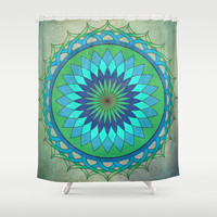 Bluegrass Shower Curtain by Katayoon Photography