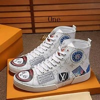 Louis Vuitton Man or Woman Fashion Casual Shoes