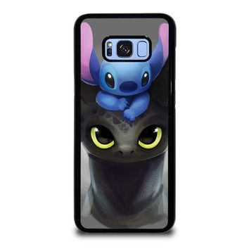 TOOTHLESS AND STITCH Samsung Galaxy S8 Plus Case Cover