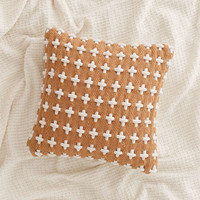 Woven Cross Pillow - Urban Outfitters