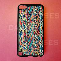 Ipod Touch 5 Case   Aztec Ipod Touch 5 Cover Tribal by DzinerCases