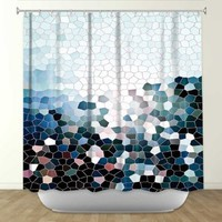 DiaNoche Designs Shower Curtains by Arist Iris Lehnhardt Unique, Cool, Fun, Funky, Stylish, Decorative Home Decor and Bathroom Ideas - Patternization I