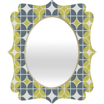 Heather Dutton Othello Quatrefoil Mirror