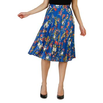 Pinko- Floral Pleated Skirt