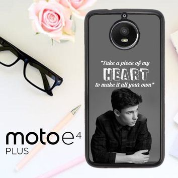 Shawn Mendes Song Z4457 Motorola Moto E4 Plus Case