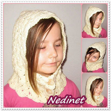Valentine day gift, Crochet hood, Hooded cowl, Crochet hood cowl, Hooded cowl scarf, Scoodie Hooded Cowl, Hooded neckwarmer FREE shipping