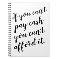 Budget bullet journal inspirational money quote