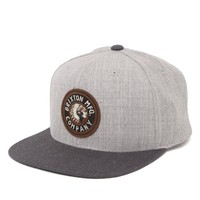 Brixton Rival Snapback Hat - Mens Backpack - Grey - One