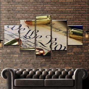 Right To Bear Arms Canvas Set