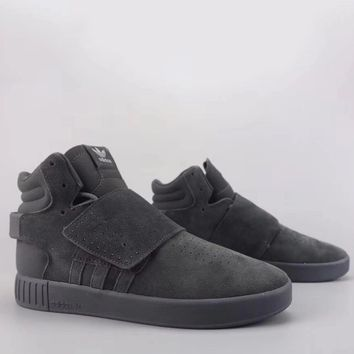 Adidas Tubular Invader Strap Fashion Casual High-Top Old Skool Shoes-8