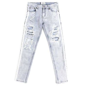 Darryn Distressed Jeans (Denim)