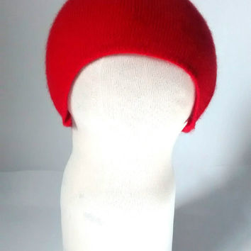 Soft baby hat, newborn, hospital, cashmere baby hat, recycled cashmere, preemie, recycled wool, baby gift, red hat, boy, girl