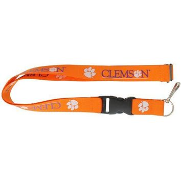 Clemson Tigers Lanyard - Orange