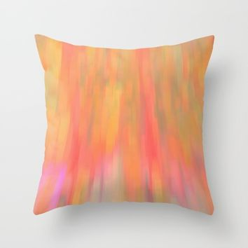 Color Fall Throw Pillow by ARTDIGITAL