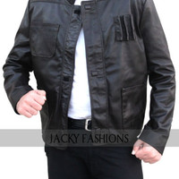 Harrison Ford Han Solo Star Wars the Force Awakens Jacket - Available All Sizes