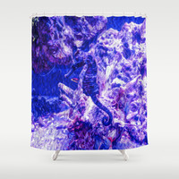 Whoa Nellie! Shower Curtain by gwendalyn abrams