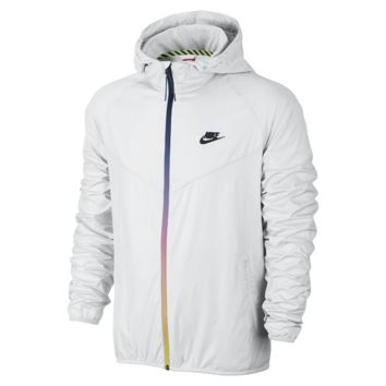 Nike T/F Lightweight Windrunner Men's Jacket Size Small (White)
