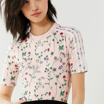 adidas Originals Floral Bodysuit | Urban Outfitters