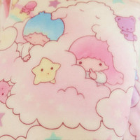 Sanrio Little Twin Stars Cute Anime Soft Flannel Blanket Throw Plush Blanket NEW