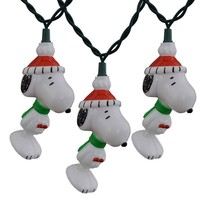 Peanuts Snoopy Set of 10 String Lights