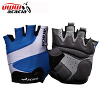 Acacia Brand Half Finger Motorcycle Gloves Fitness Sport  Bike Accessories Cycling Bike Moto Breathable Gloves 03758