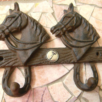Lawyer Law School Law Student Cast Iron Wall Hook, Attorney Judge Gavel Gift, Law School Graduation, Lucky Horseshoe Rustic Home Wall Decor