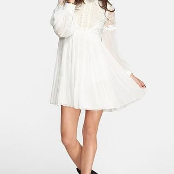 Women's Free People 'Lou Lou' Babydoll Dress