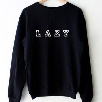 Lazy Oversized Sweatshirt