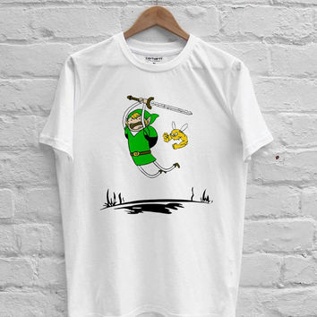 adventure time zelda antque irish green T-shirt Men, Women, Youth and Toddler