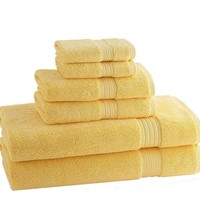 Classic Egyptian Towels | Set of 6 | Pineapple