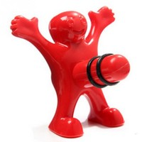 Happy Man Wine Stopper - Novelty Bottle Plug