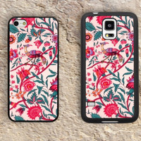 Vintage Liberty Fabric flower patterns iPhone Case-iPhone 5/5S Case,iPhone 4/4S Case,iPhone 5c Cases,Iphone 6 case,iPhone 6 plus cases,Samsung Galaxy S3/S4/S5-105